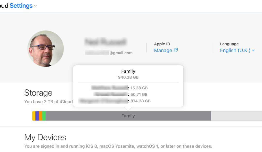 How Much Cloud Storage am I Using?