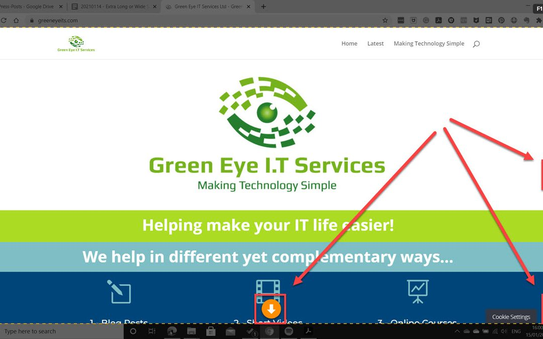 Take Long and Wide Screenshots with Snagit