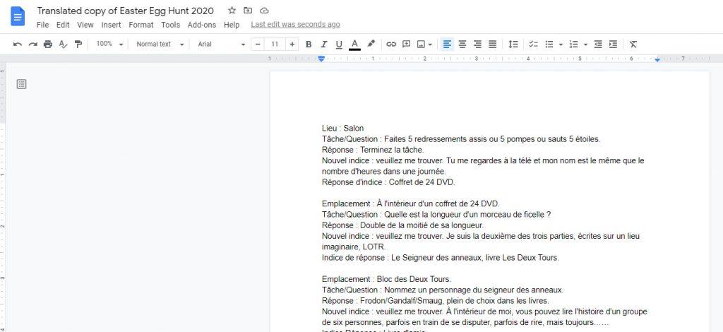 Translated Google Doc.