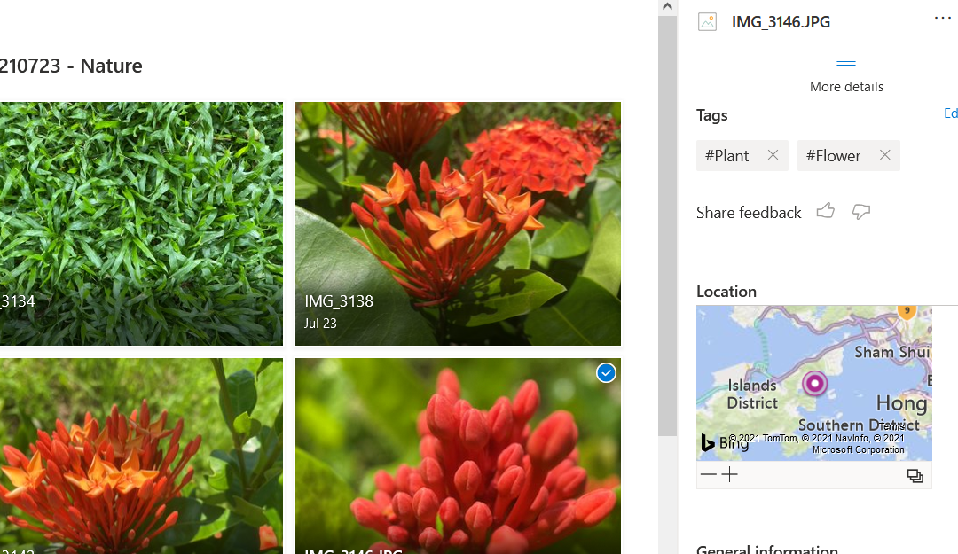 See Photo Stats in Personal OneDrive