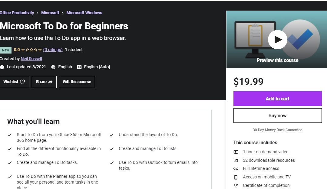 First Sale at Udemy
